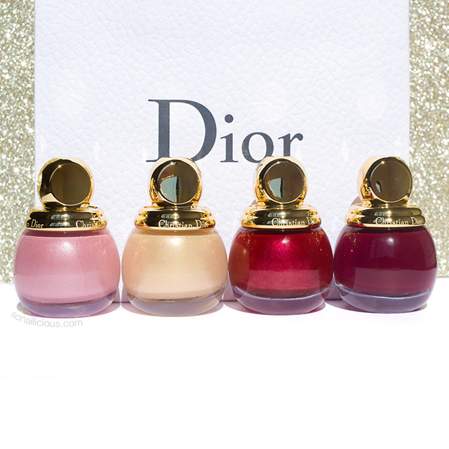 dior diorific holiday 2018 nail polish collection review