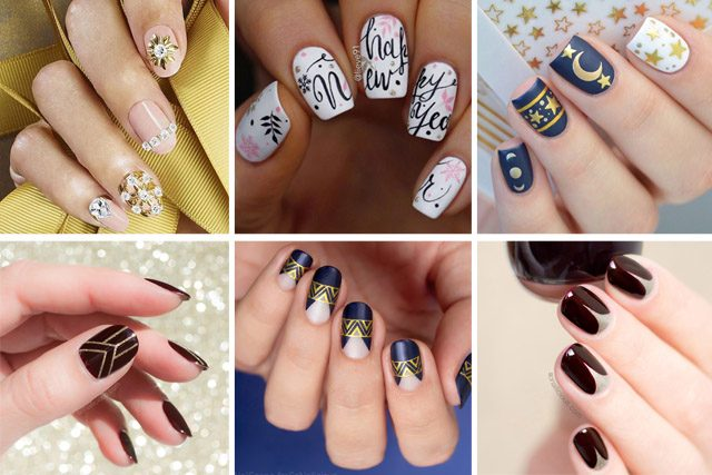 14 New Years nail designs