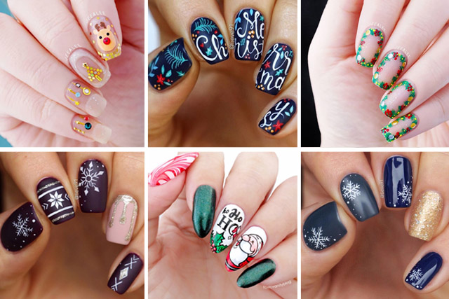 14 holiday nails to try