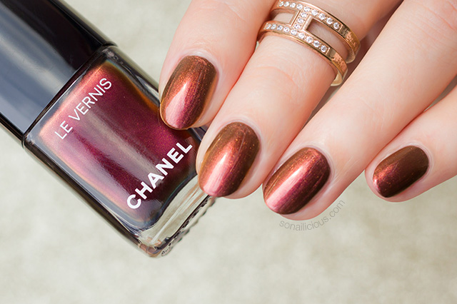 chanel le vernis opulence nail polish review