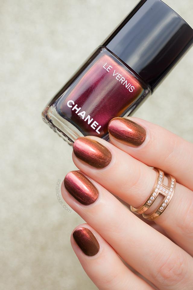 chanel le vernis opulence nail polish