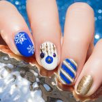 Happy Holiday Nail Art. Plus, How-To