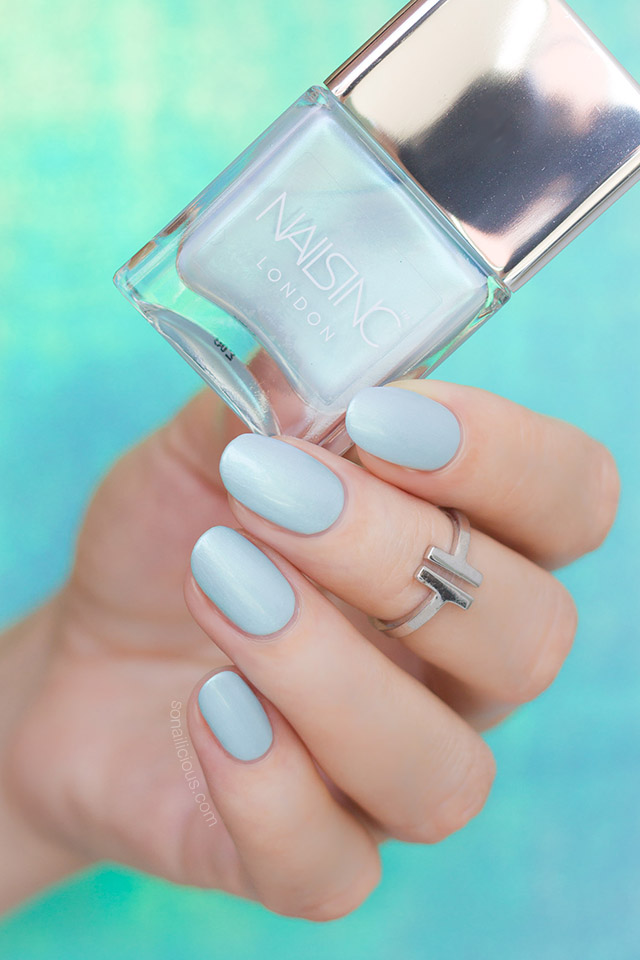 nailsinc Mermaid Parade mint nail polish