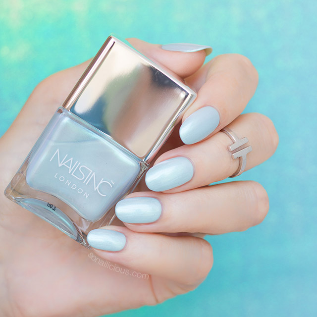 nailsinc Mermaid Parade nail polish review
