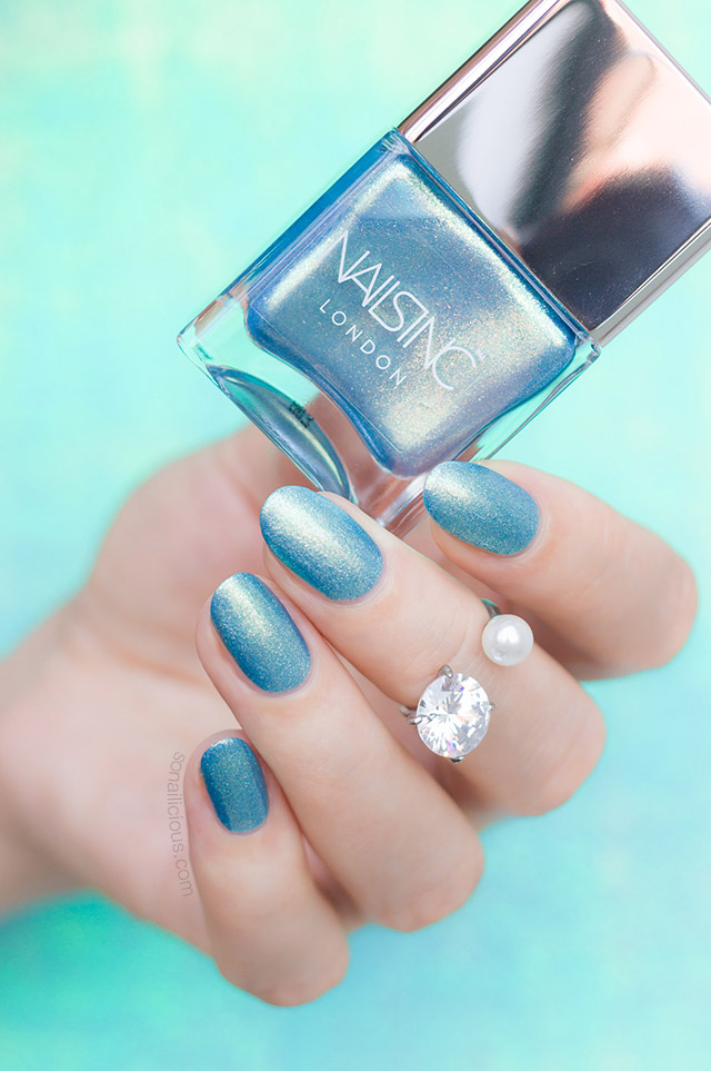 nailsinc Ocean Ever After green nail polish