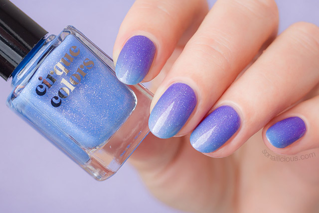 cirque colours celestial thermal nail polishes review