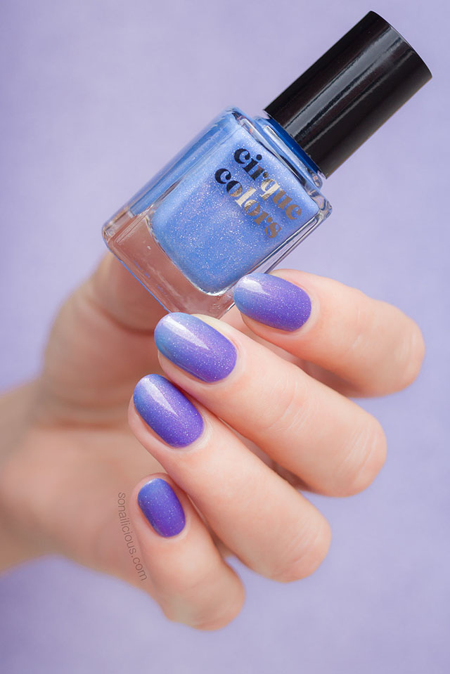 cirque colours terra thermal nail polish