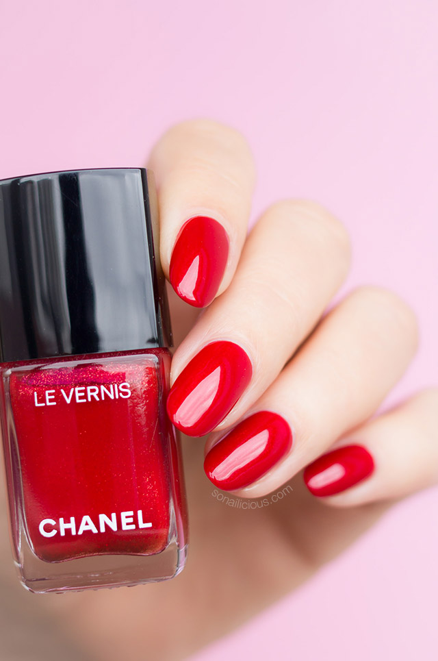 Chanel Flamboyance: The Only Red You\'ll Need - SoNailicious