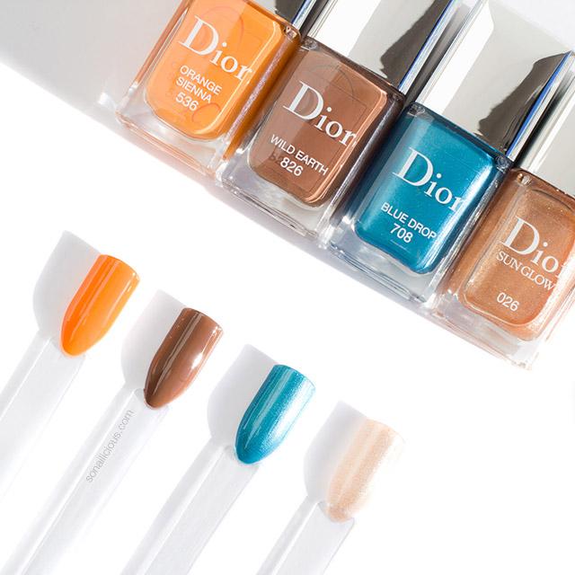 Dior nail polish summer 2019