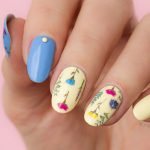 Elegant Flower Nail Art. Plus, How-To!