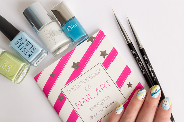 abstract nail art and little book of nail art