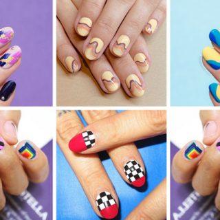 abstract nail designs, 10 best nail art ideas