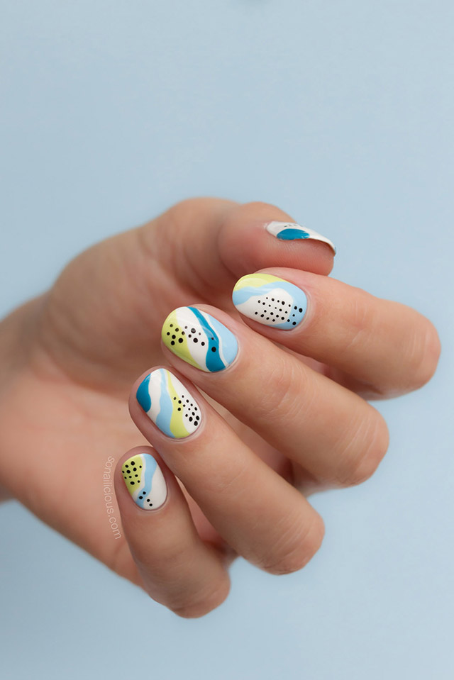 abstract nails