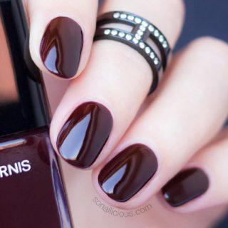 best dark red nail polishes