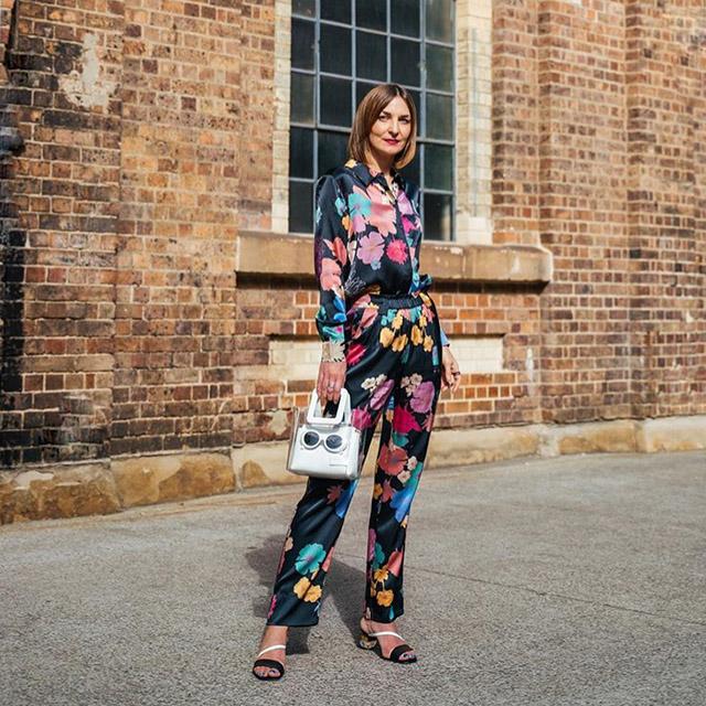 floral outfit Maria fashion week australia