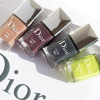 dior fall 2019 makeup and nail polish