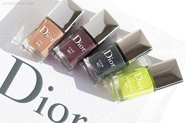dior fall 2019 makeup and nail polish