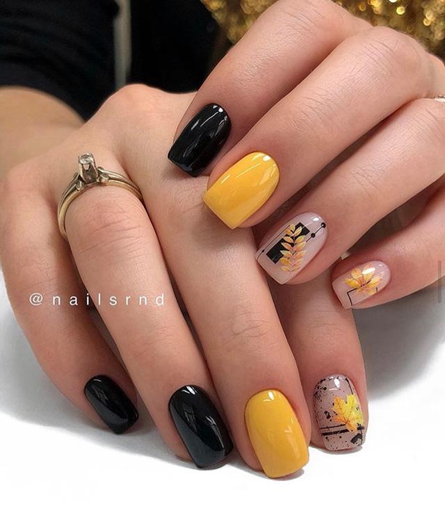 stamping fall nails