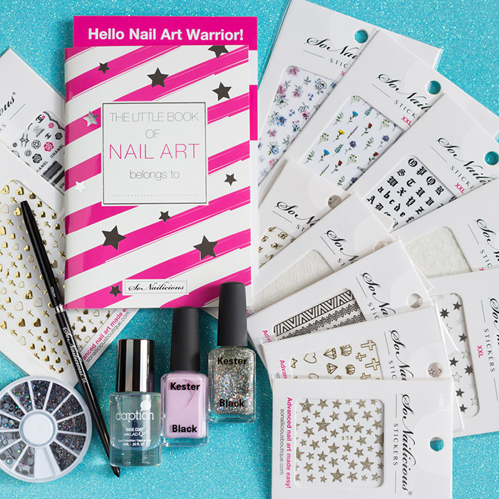 nail art kit for easy nail art