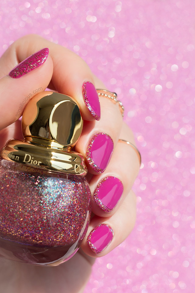 Dior diorific happy 2020 nail polish swatch nail art