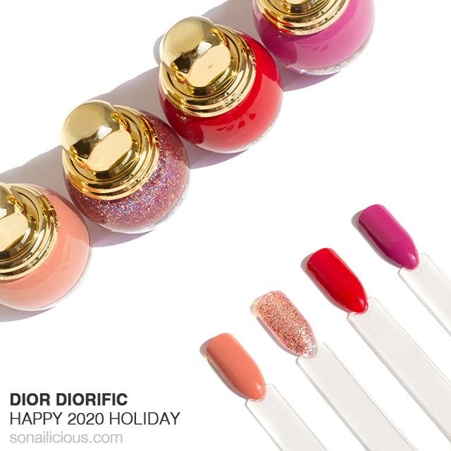 dior diorific happy 2020 nail polish collection
