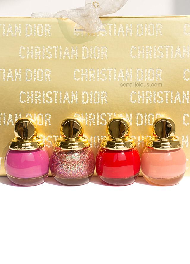 dior diorific happy holiday nail polish