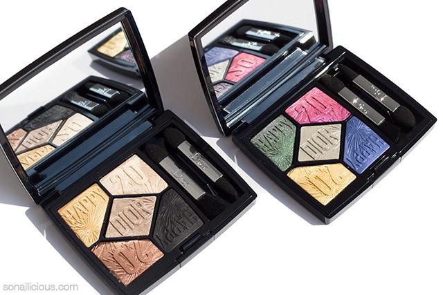 dior diorific happy eye shadow palettes
