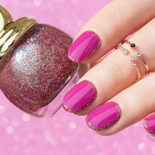 festive nails with Dior diorific happy and dream nail polish, 10