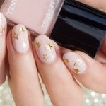 Tutorial: Party Perfect Gold Star Nails