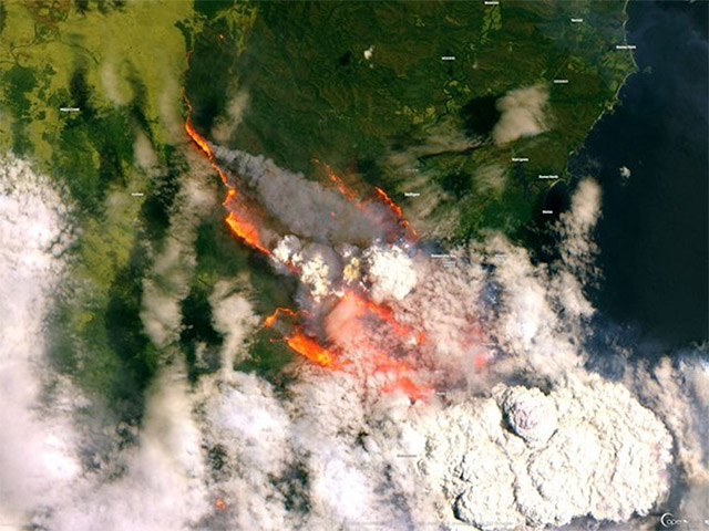 Bateman Bay bushfire australia 2020