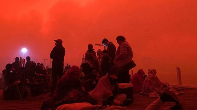 Malacoota fires