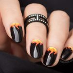 Black Summer Nails… or My Tribute to Australia Bushfire Crisis